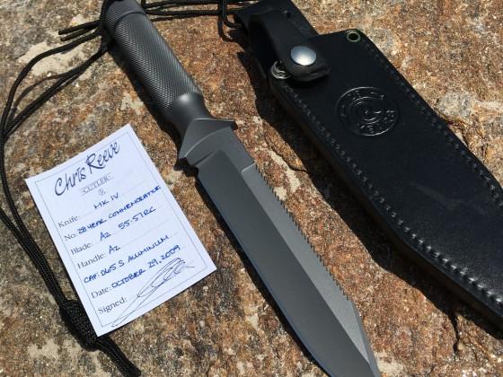 chris reeve knife MK IV