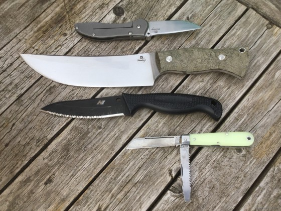 4 knives for a week