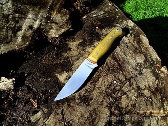 Zen Knives # Leather Works -  SKINNER