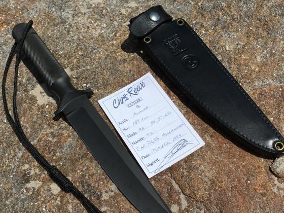 chris reeve knife AL MAR 143 / 200