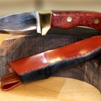 Hunting Knife & Sheath
